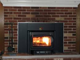 wood burning fireplace insert ideas living room decoration brick including stoves oak slab mantel impressive design stove m l f