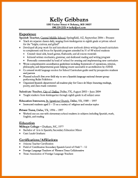 Language Teacher Resume Sample Elementary Teacherme Examples Example And Free Surprising Language 22