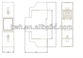 drs c m bus single phase two wire din rail electric energy drs 210c m bus single phase two wire din rail electric energy meter for