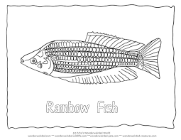 fish tank clipart rainbow fish 15