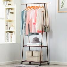 Furniture to hang clothes Stand Multifunction Clothes Hanger Triangle Coat Rack Removable Bedroom Hanging Clothes Rack With Wheels Floor Standing Coat Rack Aliexpress Multifunction Clothes Hanger Triangle Coat Rack Removable Bedroom