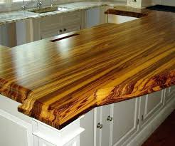 thick wood countertop 2 1 4 thick premium wide plank natural color with marine oil finish thick wood countertop