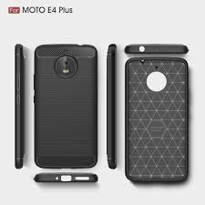 motorola e4 phone case. byheyang for motorola moto e4 plus case carbon fiber soft silicone cover shockproof slim protection phone shell plus-in fitted cases from i