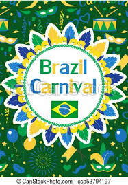 Free Carnival Poster Template Welcome Brazil Carnival Poster Invitation Flyer Templates For Your Design Brazilian Festival Masquerade Background Rio De Janeiro Travel