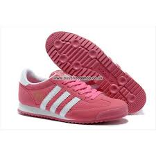 adidas shoes pink and gold. new adidas originals dragon women pink/white q20684 shoes pink and gold