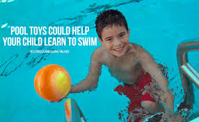 Learn to swim toys