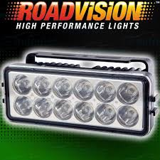 Roadvision Light Bar Review Roadvision White 12 Led Cree 12v Driving Light Bar Lamp Offroad