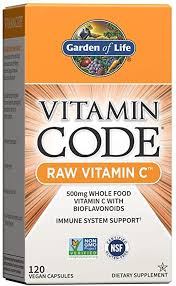 Garden of Life Vitamin C - Vitamin Code Raw Vitamin ... - Amazon.com