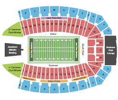 Jack Trice Stadium Seating Chart Ames