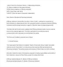 Proper Letter Of Intent Format Vbhotels Co