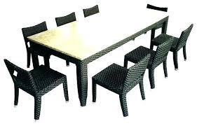 outdoor dining table with 8 chairs set for great sets person square decorating remarkable