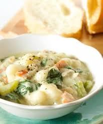 olive garden en gnocchi soup