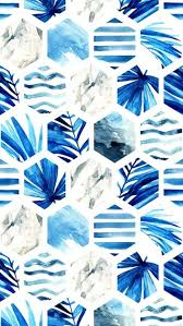 Pattern Tumblr Custom Blue Pattern Wallpaper Tumblr