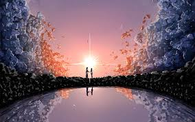 Couple name live wallpaper is a free software application from the themes & wallpaper subcategory, part of the desktop category. Hd Wallpaper Gray And White Painting Of Couple Anime Your Name Kimi No Na Wa Wallpaper Flare