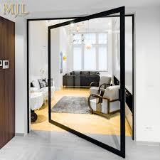 china villa main entrance door modern design pivot doors china aluminum frame pivot door entry glass pivot door