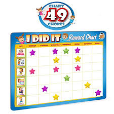 New Rewards Chore Chart For Kids 49 Responsibility And