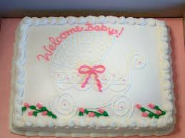 Baby Shower Sheet Cake Ideas Simply Precious Baby Shower Cakes