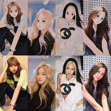Find blackpink clothes, kpop sweatshirts for an affordable price | get clothes of your favorite kpop idol or kdrama star shop now. Rs1 Is Coming On Instagram Blackpink As Anime Characters Who S Your Fav Blackpink Bp Rose Lisa Je In 2021 Black Pink Art Black Pink Kpop Black Pink Cute