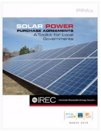 Solar Power Purchase Agreements: A Toolkit For Local Governments ...