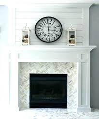 reface brick fireplace fireplce refcing ides how to resurface a with marble tile fi reface brick fireplace with concrete