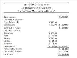 How To Make A Financial Statement - April.onthemarch.co