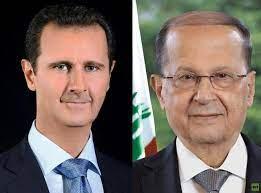 الأسد يبرق لعون مؤكدا الوقوف إلى جانب لبنان الشقيق والتضامن مع شعبه المقاوم  - RT Arabic
