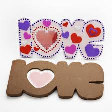 love picture frame kit decorate your own photoframe
