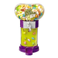Jelly Bean Vending Machine Extraordinary Amazon Jelly Belly BeanBoozled Bouncing Bean Machine Grocery