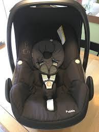 maxi cosi black raven pebble group 0 baby car seat