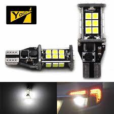 Vintage Reverse Lights Yaagoo Error Free Canbus 24 Smd 12v 921 T15 W16w Led Bulbs