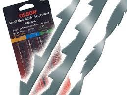 scroll saw blades. long plain end scroll saw blade assortment blades