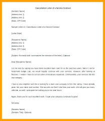 Gym Cancellation Letter Template Service Contract Termination Letter Template Cancellation Of