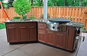 Outdoor Kitchen Plans Wood Kitchen Decor Design Ideas