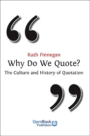 why do we quote the culture and history of quotation open book  why do we quote the culture and history of quotation