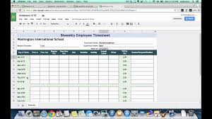 Excel Time Sheet Calculator Weekly Timesheet Template Free Excel Timesheets Clicktime