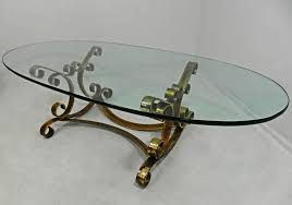 gold glass top coffee table rustic