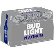Calories In Bud Light Platinum Bottle Bud Light Platinum Beer 18 Pack 12 Fl Oz Bottles Walmart Com
