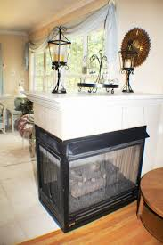 3 sided fireplace style and sense