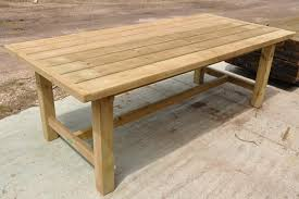 Download Wooden Garden Table