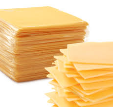 american cheese slices.  Cheese Cheese Slices And American E