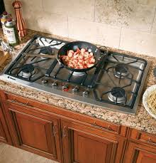 stove 36 inch. monogram zgu385nsmss 36 inch gas cooktop with 5 sealed dual flame stacked burners, 140 degree simmers, indicator lights embedded knobs and ada compliant: stove s