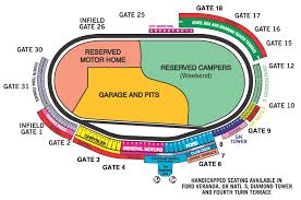 Charlotte Motor Speedway Clubhouse Seating Chart Charlotte Motor Speedway Dirt Track Seating Chart