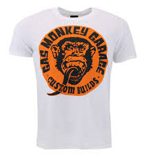 Men's T-Shirts White <b>Spark</b> Plug Gas <b>Monkey</b> T-Shirt colmartropicale ...