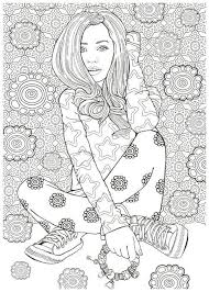 Small Picture 2439 best Adult Coloring Pages books images on Pinterest