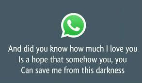 Bildergalerie Neuer Whatsapp Status Liebeskummer Freewarede
