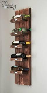 diy wine rack lovable wooden wine rack for wall wine rack shanty 2 chic diy wine