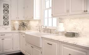3 6 white marble backsplash tile