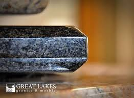 choosing an edge for your kitchen countertop great lakes