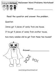 Free Printable Kindergarten Halloween Worksheets – Fun for Christmas