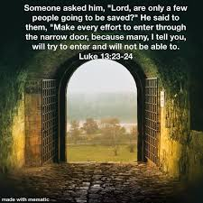 """Image result for """"the narrow gate."""""""
